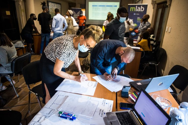 mLab sprint in collaboration with EduExcellence in Pretoria